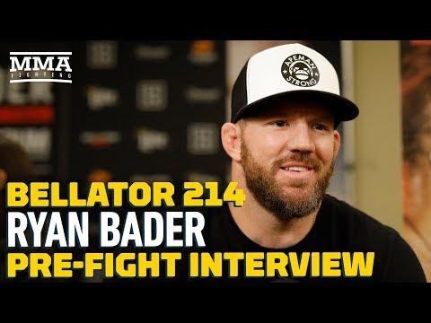 Bellator 214: Ryan Bader Says He Has One Fight Left on Contract After Fedor Emelianenko Bout