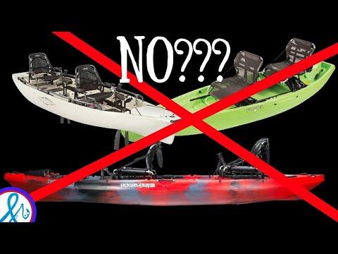 DO NOT BUY Tandem Fishing Kayaks UNLESS