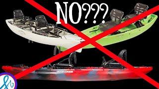 Tandem Kayak - DO NOT BUY Tandem Fishing Kayaks UNLESS...