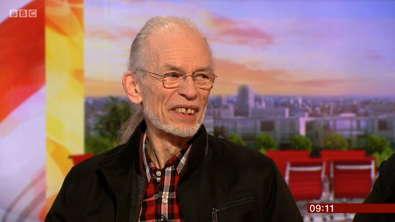 Steve Howe and Geoff Downes of YES on BBC Breakfast 23rd Feb 2018