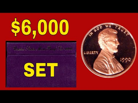 Top 10 Most Valuable US Mint & Proof Sets Worth Huge Money! Rare Coins To Look For In Sets!