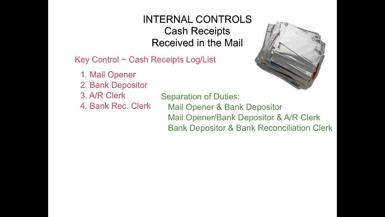 cash receipts in the mail youtube