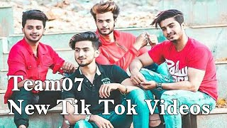 Team 07 Latest Tik Tok Comedy Video, Mr Faisu New Tik Tok Video, Hasnain Adnaan Saddu Faiz TikTok 07