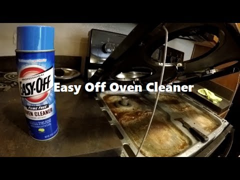 How To Clean The Stove With Easy Off Oven Cleaner