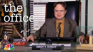 Dwight K. Schrute, (Acting) Manager - The Office