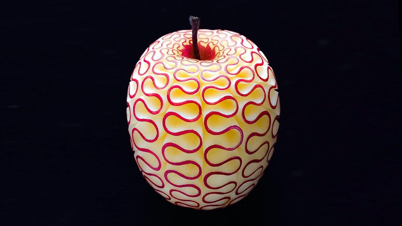 【神業】ツイッターで超バズった「ONE PIECE」リアル悪魔の実の作り方!ASMR 日本 職人技 フルーツカット The Making Real Devil Fruit is So Amazing!