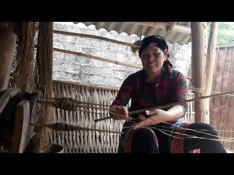 Hmong hemp fabric clothes