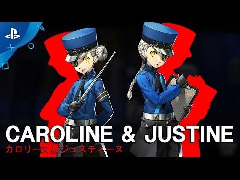 Persona 5 - Caroline & Justine Confidant Trailer   PS4