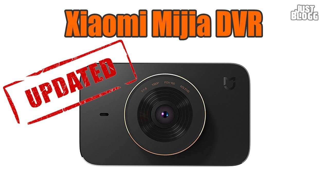 Xiaomi Mijia Dvr Firmware Yi Smart Car Camera Tachograph Update