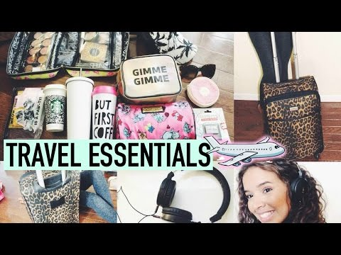 My Travel Essentials + What's in My Suitcase!