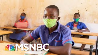 K.I.N.D Desks Help Fight The Spread Of Covid-19   The Last Word   MSNBC