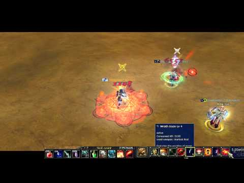 Silkroad Online How To Play Warrior / Warlock - PvPerz 11D Warrior / Warlock vs Rogue / Cleric