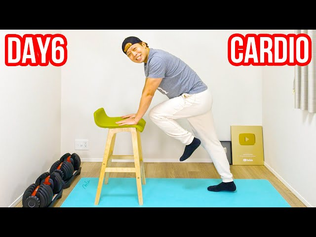 [DAY6] Cardio with chair! More effective than usual!
