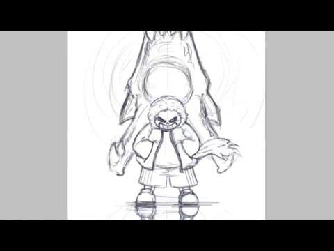 Let's get to the point - undertale sketch speedpaint