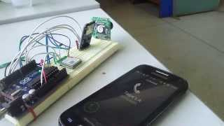 motion detector and snapshot using vc0706 camera module and call to a phone using gsm sim800l modu
