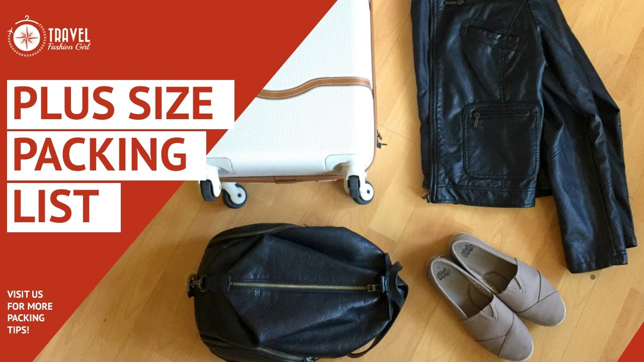 4e2410ac3049 Plus Size Packing Carryon Only. Travel Fashion Girl