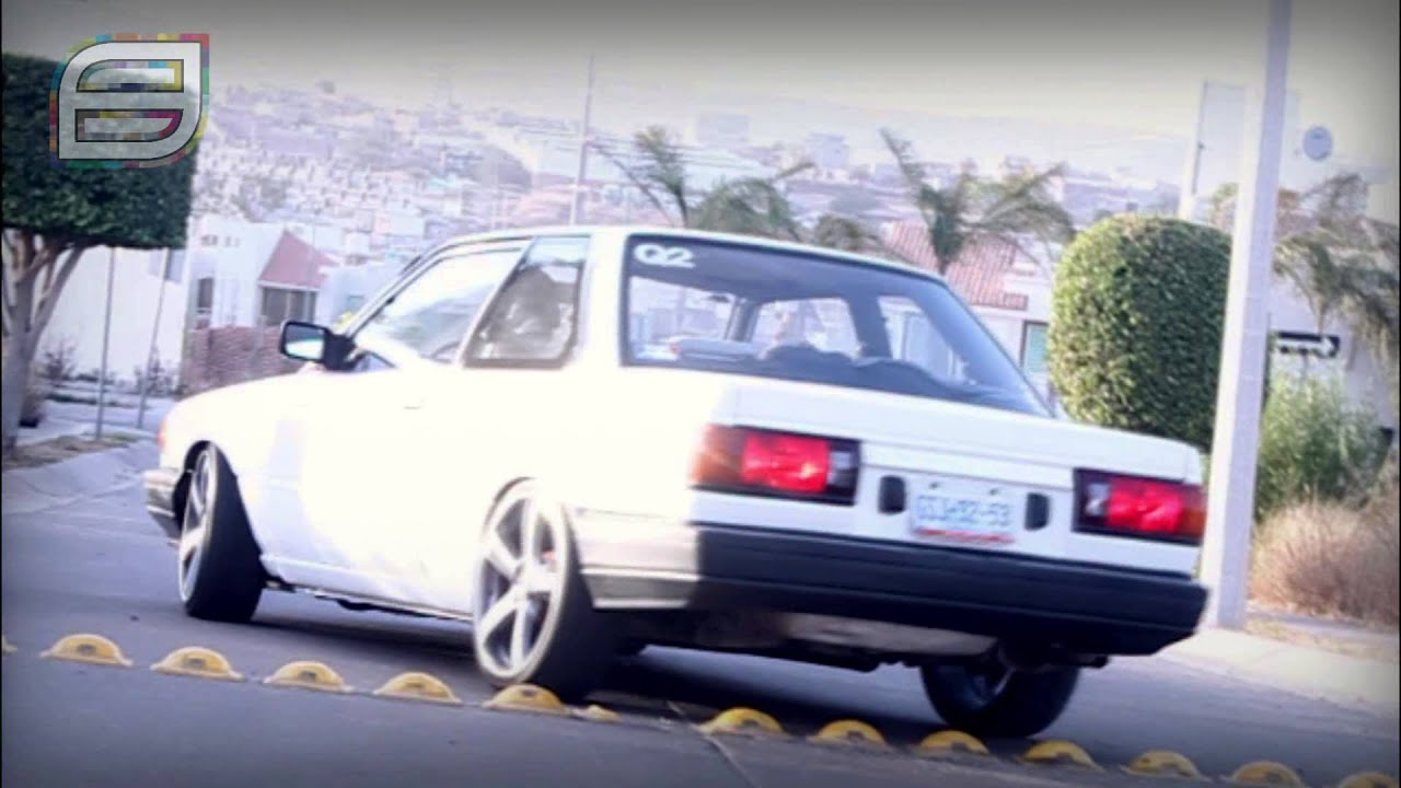 tsuru 90 Quadra2 Car Club leon gto - YouTube