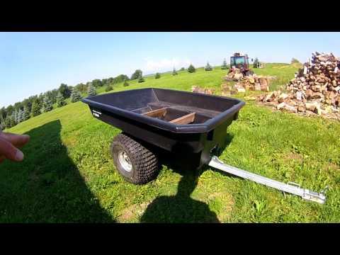 ATV/Argo Dump Trailer Bush Burro by Resmark