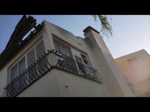 רקטה פגעה בחצר בית בשדרות; אין נפגעים