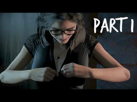 Until Dawn Walkthrough Gameplay Part 1 - Naked (PS4) - YouTube