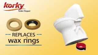 How to Install a toilet without wax ring