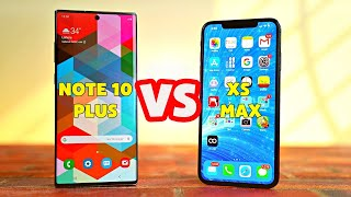 Nên mua Galaxy Note 10 Plus hay iPhone XS Max ở 2020?