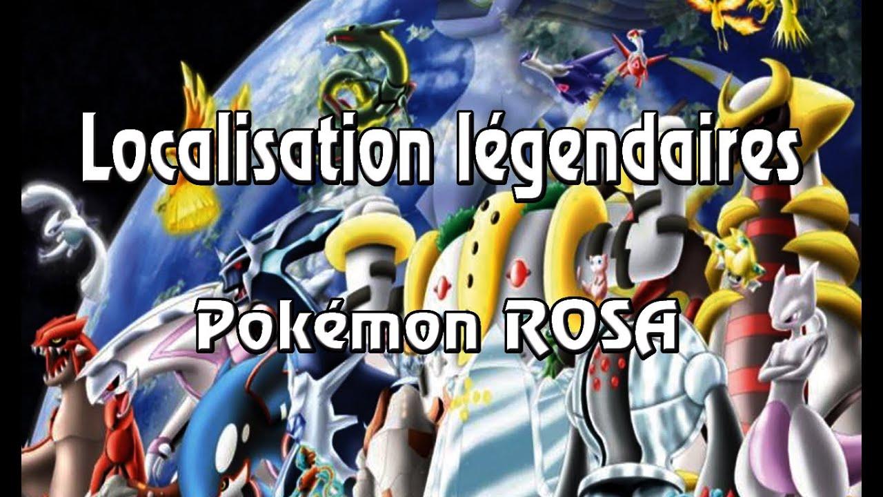 Pok tuto 3 fr localisation des pokemon legendaires dans pokemon rosa youtube - Image pokemon legendaire ...