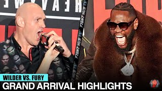 HIGHLIGHTS | DEONTAY WILDER VS. TYSON FURY 2 GRAND ARRIVALS