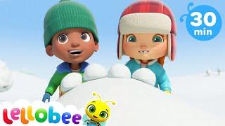 Frozen Song | Learn Numbers | Little Baby Bum | Kids Stories | Bedtime Songs | Winter songs