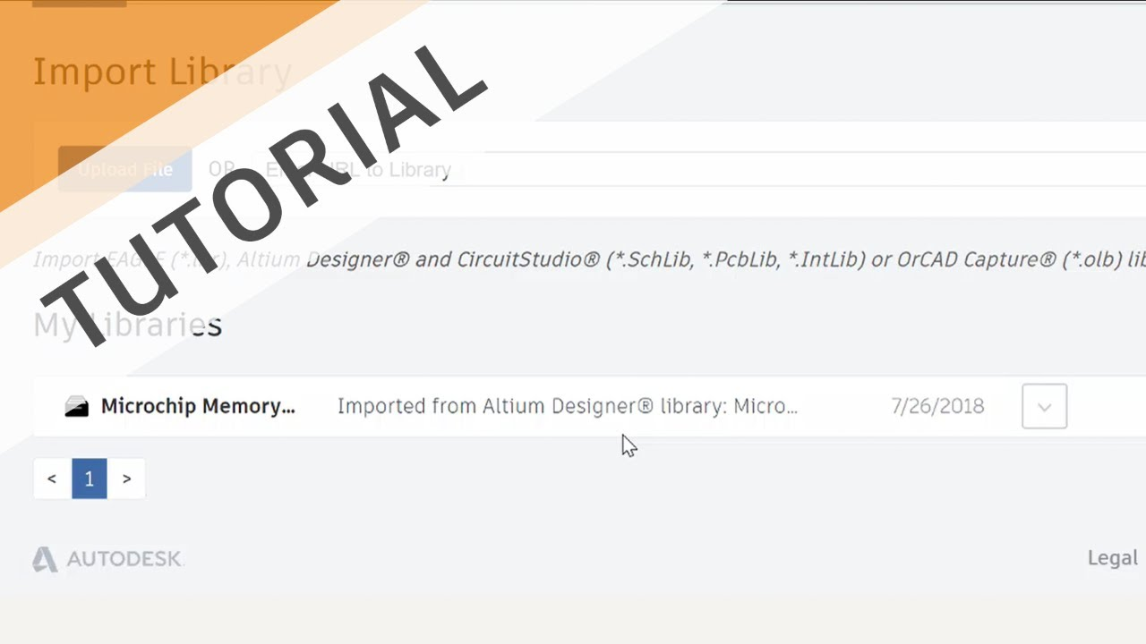 Import and Convert Altium® and OrCAD® libraries to EAGLE