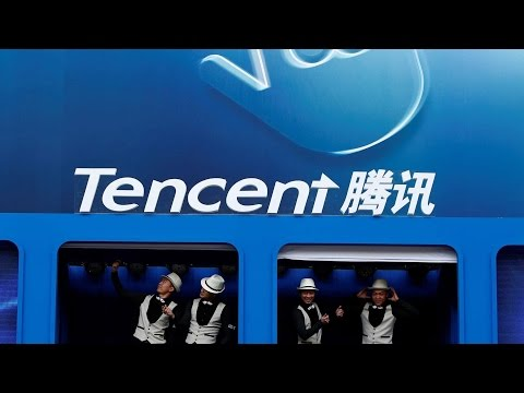 China's Tencent takes five percent stake in Tesla