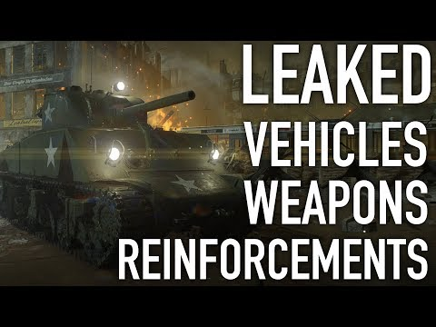 Battlefield 5 - Leaked Vehicles And Weapons! Potential American Season (Speculation)
