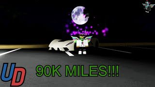 Reaching 90k miles and $67 M in Ultimate Driving Roblox!