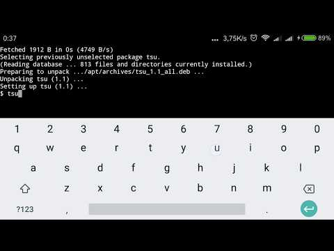 Root User on Termux Android ( cara akses root termux )