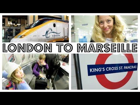 EUROSTAR  - LONDON TO PARIS TO MARSEILLE WITH KIDS !  |   twoplustwocrew