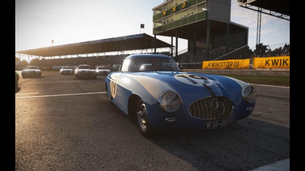 Project Cars Mercedes Benz Silverstone Classic