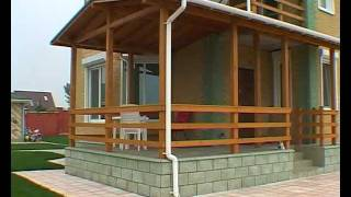 Деревянные каркано-модульные дома.(Архитектурно-строительное проектирование http://www.proekt.od.ua. Реконструкции и техническое обследование зданий..., 2011-07-28T08:55:10.000Z)