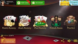 HOW TO PLAY JOY PLUS RUMMY & ONLINE RUMMY APPS REVIEW : GANGADHAR CHINTALA screenshot 5