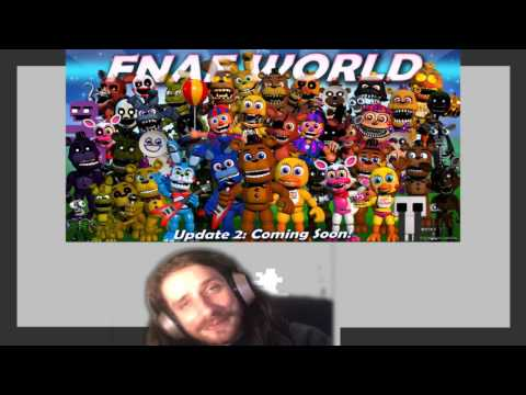 Nouveau secret/easter egg sur FNAF World + Nouvelle image sur le site de Scott !