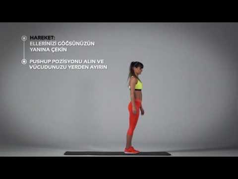 Lay Down Push Up Egzersizi Nasıl Yapılır? | Barcin.com