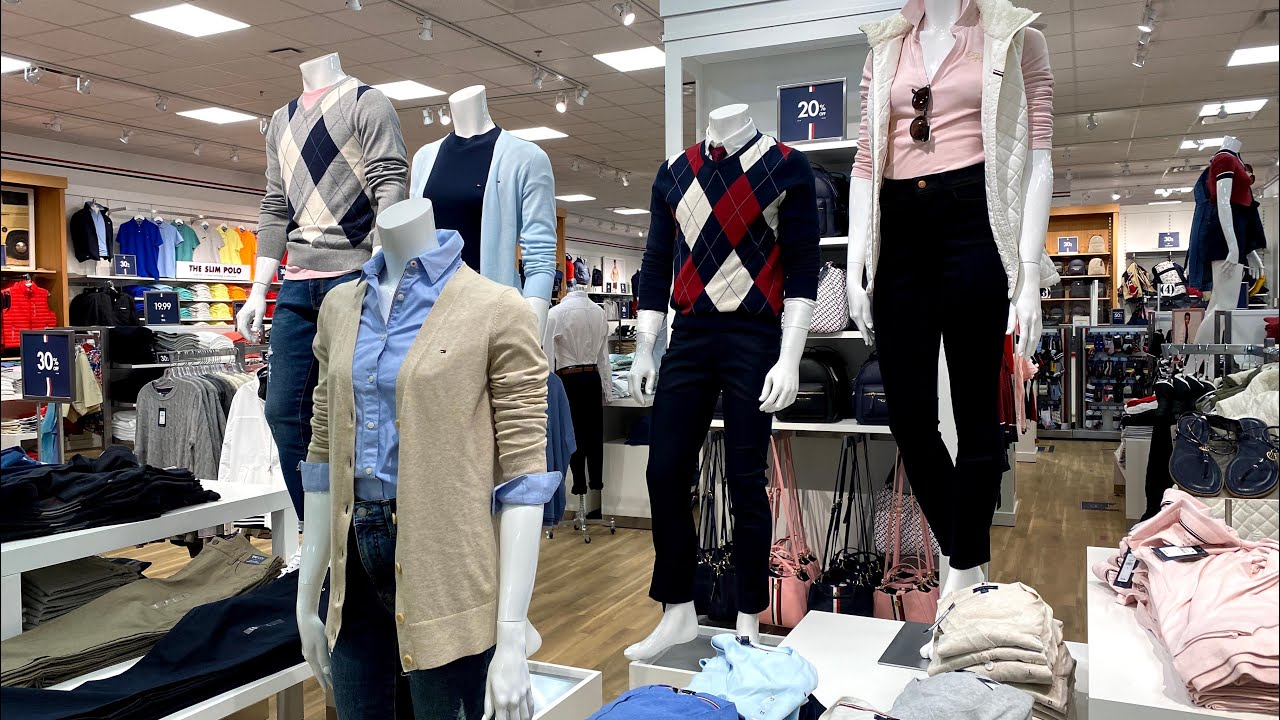 TOMMY HILFIGER OUTLET UP TO 70%OFF~STORE WALKTHROUGH~SHOP WITH ME~TOMMY~ SALE and clearance