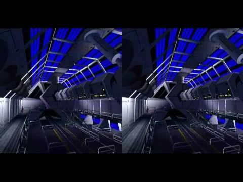RCT3 Space Mountain V.1977-3D TEST - YouTube