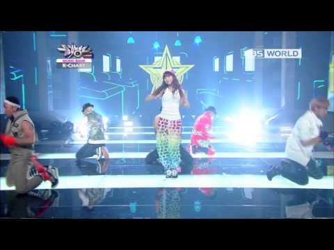 [Music Bank K-Chart] HyunA - Ice Cream