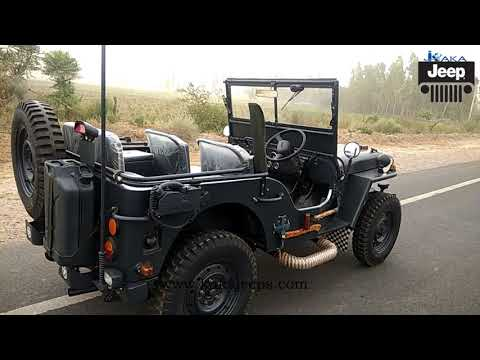 SIMPLE MILITARY LOOK MODIFIED WILLY JEEP...-60126, 94665-25524