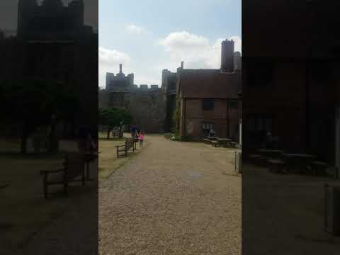 Inside Framlingham Castle