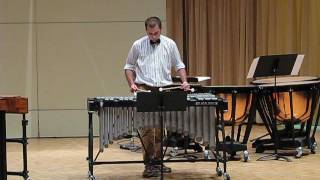 Ballade for solo vibraphone
