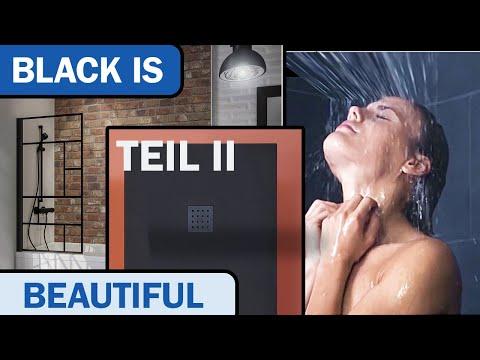 Industrial Design - Black Edition - der neue Trend im Badezimmer Teil II