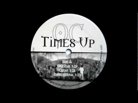 TIMES UP INSTRUMENTAL (BY O.C.) - PROD. BY BUCKWILD