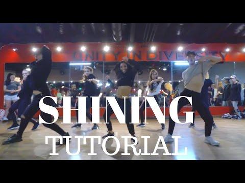 Shining by @Beyonce DANCE TUTORIAL | Dana Alexa Choreography