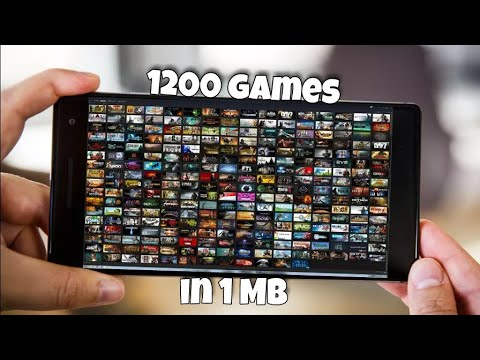 Download [1MB] Download 1200 games for Android